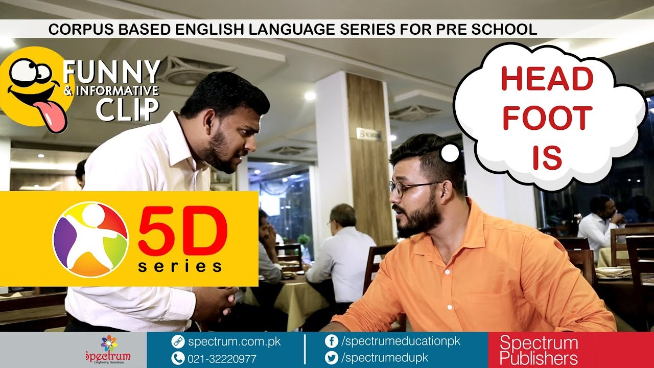 Corpus Based English Language Based Preschool Series