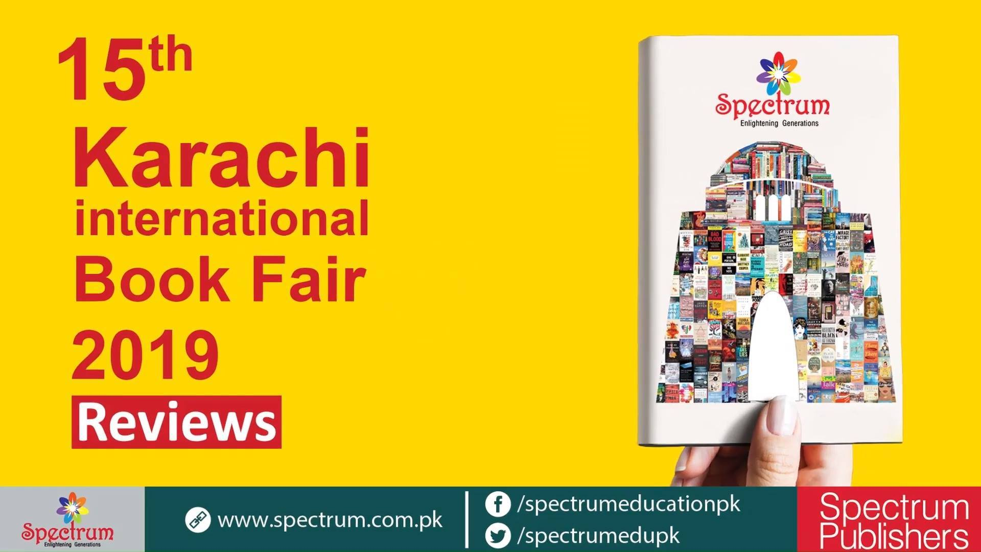 Reviews About Spectrum Products at Book fair 2019