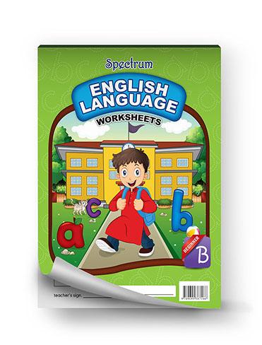 Spectrum English Language Worksheets (Beginner)