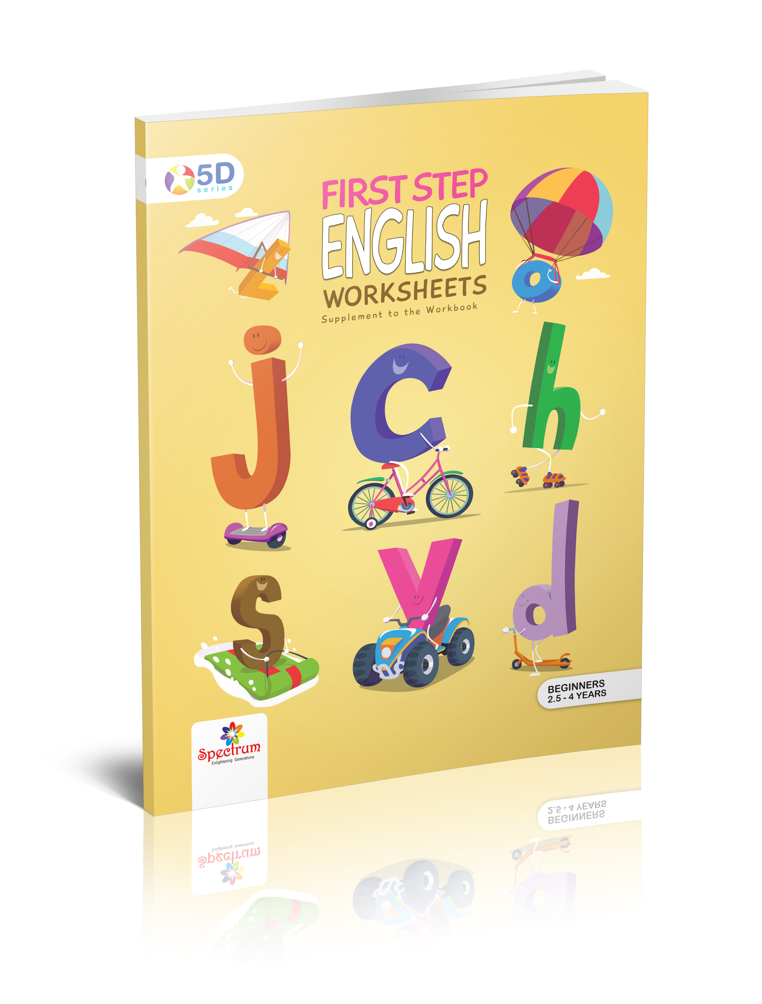 English Worksheets First Step