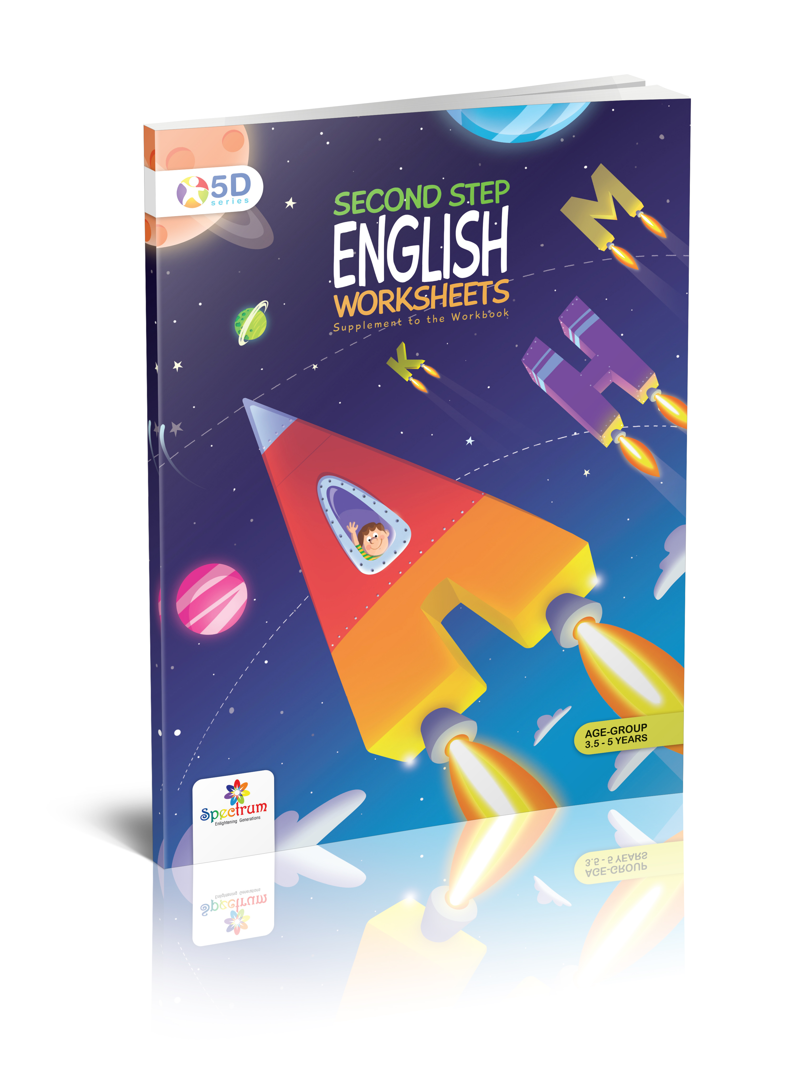 English Worksheets Second Step