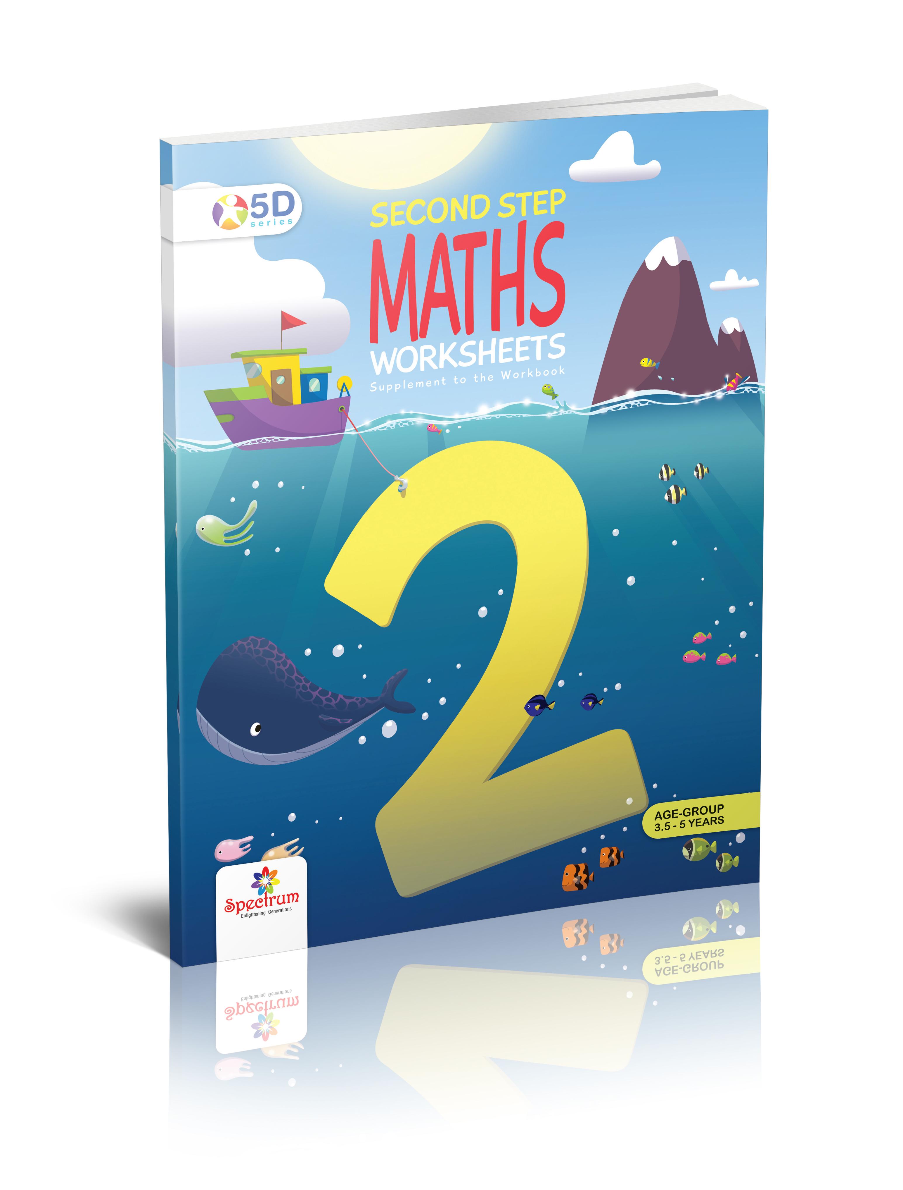 Maths Worksheet Second Step