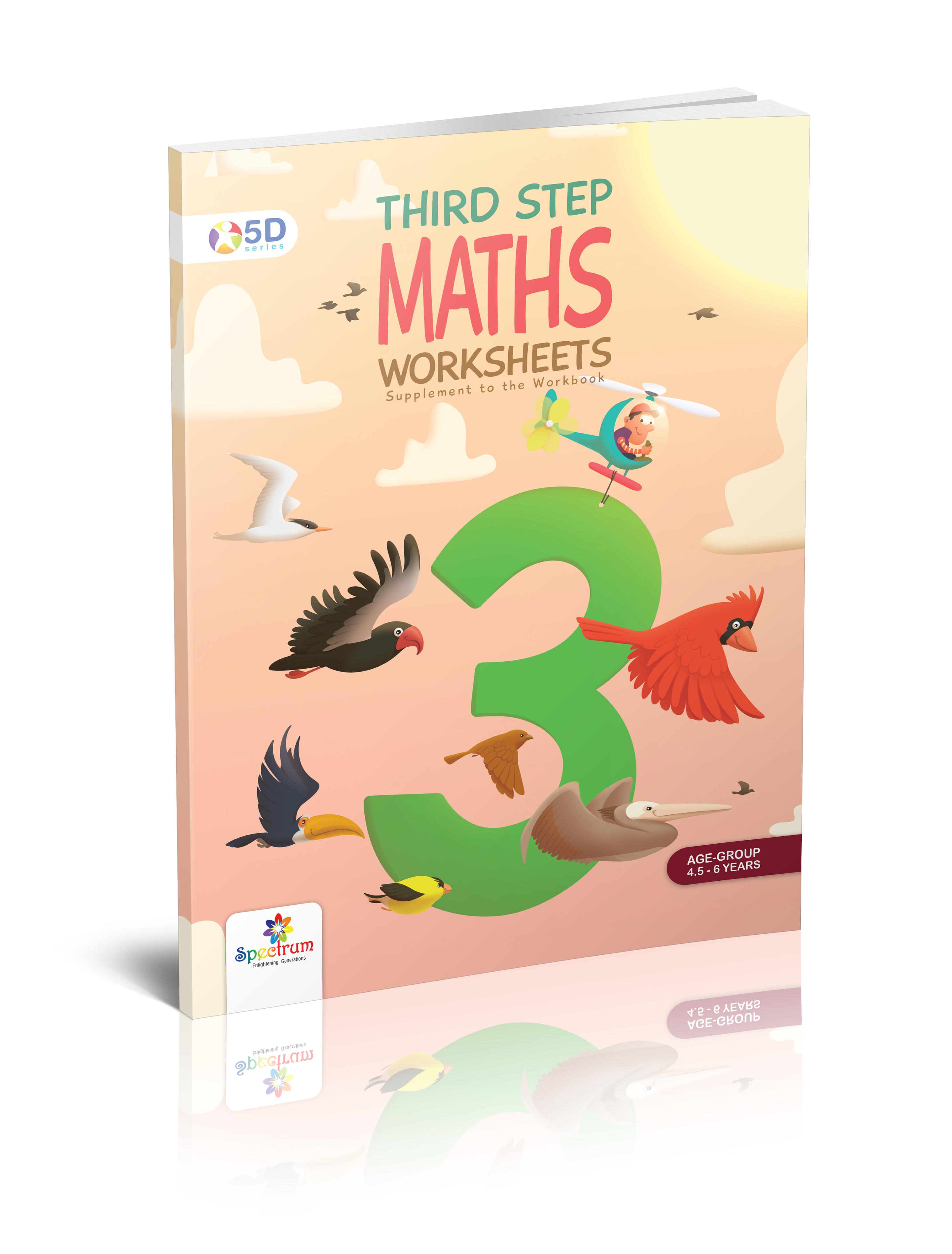 Maths Worksheet Third Step