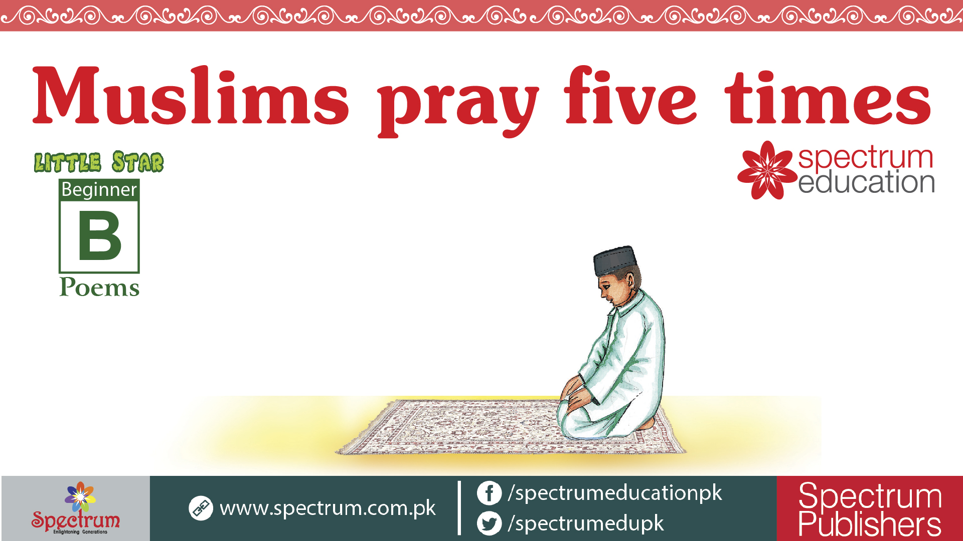 Muslims pray five times