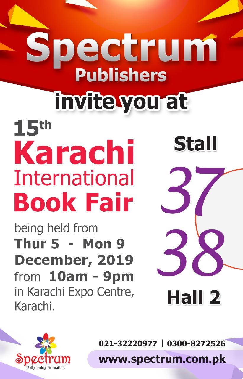15th Karachi International Book Fair