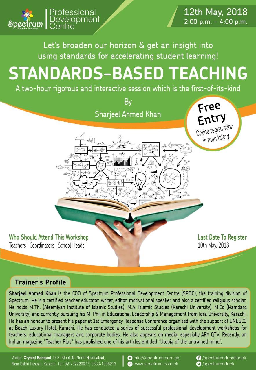 <b>STANDARDS-BASED TEACHING<b/>